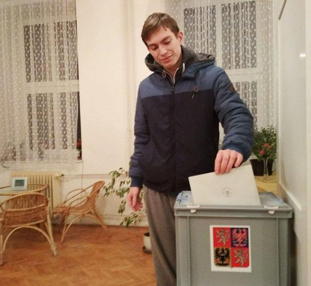 prvovolič Daniel Dusík zPravic na Znojemsku