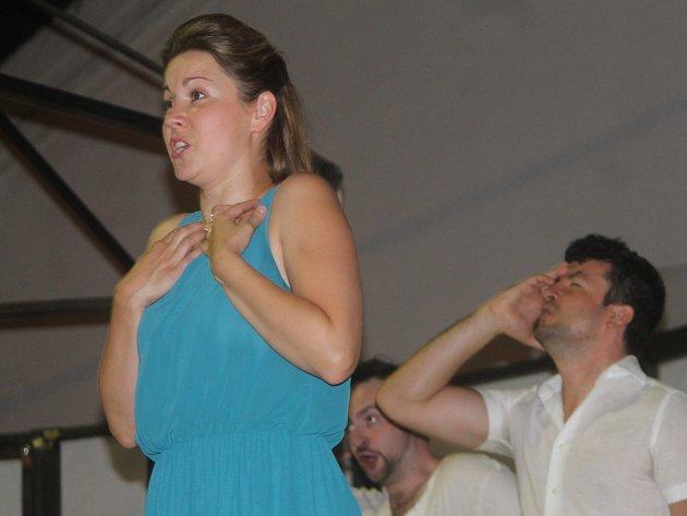 Zkouška opery Don Giovanni, která vzniká pro letošní Hudební festival Znojmo.