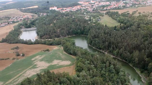 Přehrada v Jevišovicích - ilustrační foto.