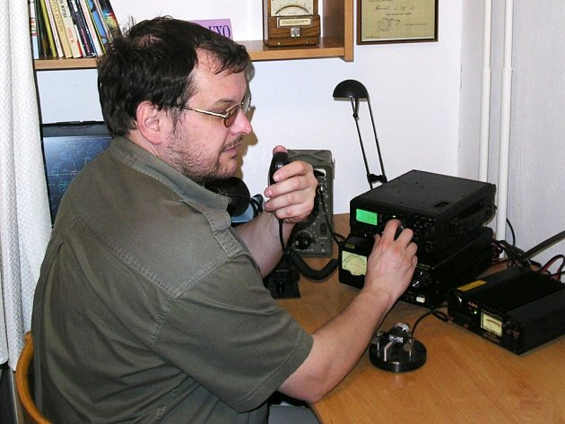 Radioamatér Vladimír Oulehla