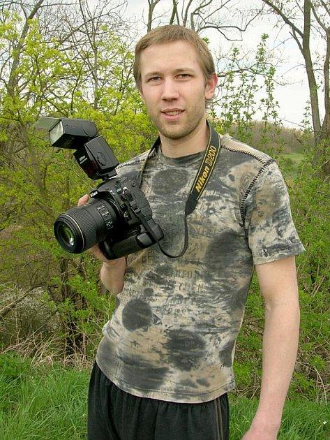Fotograf Matyáš Hošek.