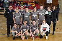 Fotbalisté FK Znojmo opanovali poslední prosincovou sobotu kategorii starších žáků na halovém turnaj ve futsale.