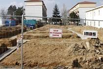 Stavba základny nové záchranné stanice ve Znojmě. Ilustrační foto.