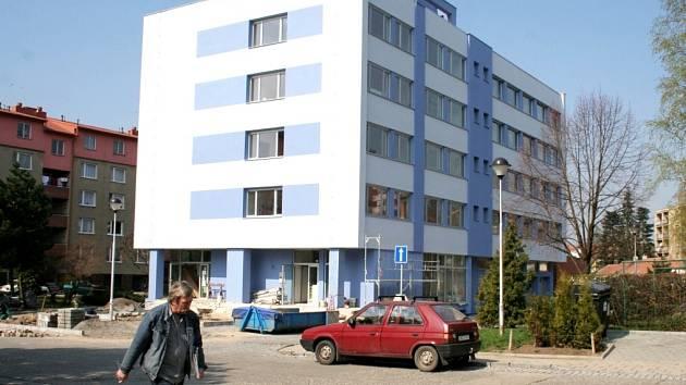 Nová pracoviště katastrálního úřadu ve Znojmě.