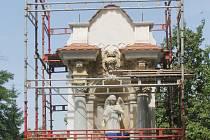 Hřbitovní kaple v Miroslavi už opravují.
