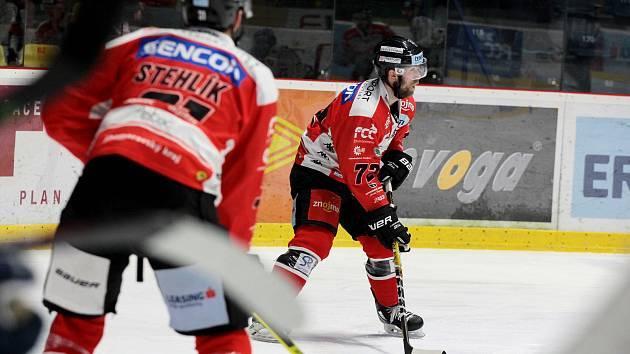 Znojemští hokejoví Orli. Ilustrační foto