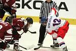 Čeští reprezentanti do osmnácti let porazili ve Znojmě Lotyšsko 7:4.