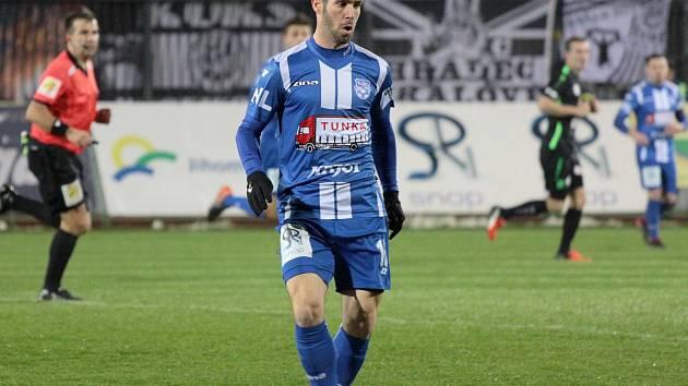 Fotbalisté druholigového Znojma uzavřeli podzimní část proti Hradci Králové.