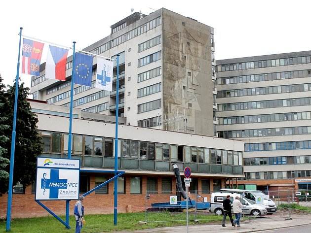 ILUSTRAČNÍ FOTO: Znojemská nemocnice.