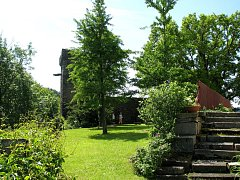 Na bítovském hradě zpřístupnili parkánovou zahradu.