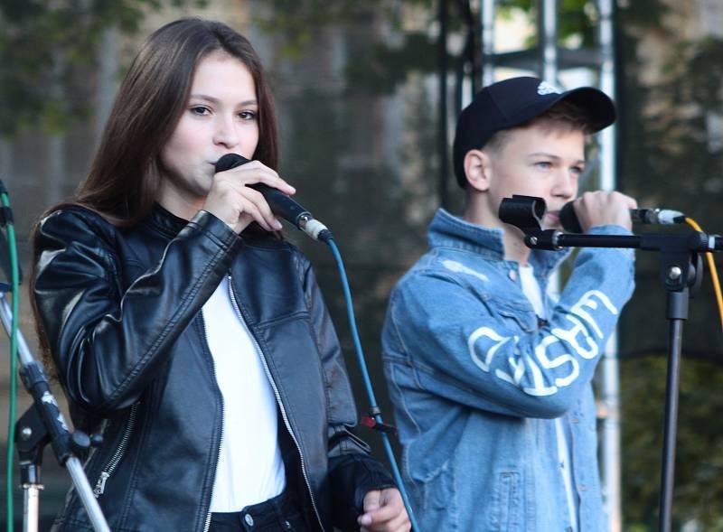 Zpívali ze srdce a moc pěkně.