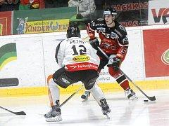 Poslední utkání před play off sehráli v neděli vpodvečer na domácím ledě Orli Znojmo proti Buldokům z Dornbirnu.