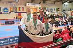 Dohromady pět medailí přivezli z mistrovství Evropy v irském Corku bojovníci znojemské taekwondo školy So-San.