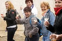 Otevřené vinné sklepy v Hnanicích navštívily o víkendu stovky lidí.