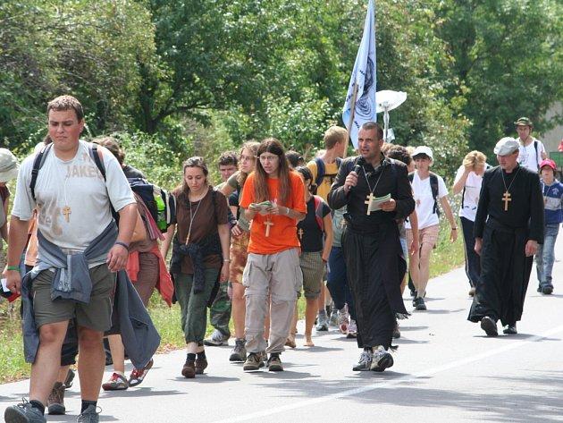 Poutníci ze Znojemska se vydali do Velehradu