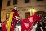 Historický průvod prošel městem v pátek večer a následně v sobotu odpoledne.