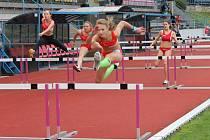 O víkendu závodily atletické naděje ve Znojmě na mistrovství Moravy a Slezska mladšího žactva.