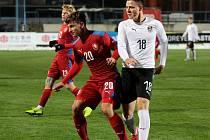 Hráčí reprezentačního výběru České republiky kategorie U18 sehráli v pondělí přípravné utkání proti stejně starému týmu Rakouska.
