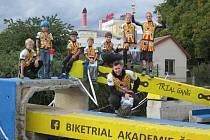 Znojemští biketrialisté absolvovali na konci září i závody v Českých Budějovicích, odkud si přivezli tři medaile.