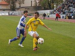 Fotbalisté Znojma remizovali na domácím hřišti se Zlínem 2:2.