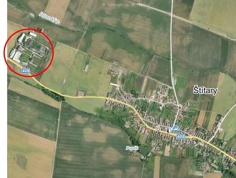 Z projektové dokumentace velkokapacitního vepřínu ve Štítarech na Znojemsku.