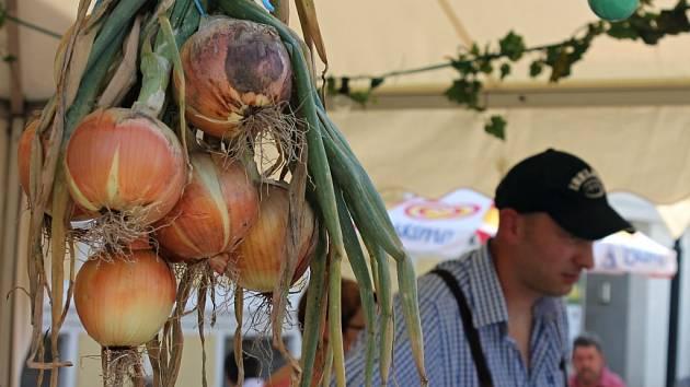 Příhraniční rakouské město Laa an der Thaya ovládly tradiční cibulové slavnosti.