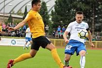 Fotbalisté Znojma v Sokolově vyhráli 3:2.