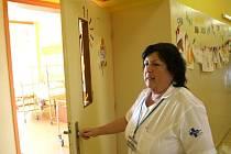 Stěny dětského oddělení v nemocnici zdobí zvířátka