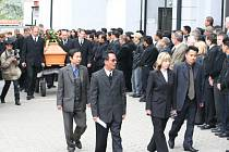 Pohřeb zavražděného podnikatele Tran Anh Quana