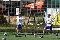 Fotbalisté 1. SC Znojmo jsou v plné přípravě. Soutěž jim začíná za měsíc 6. srpna.