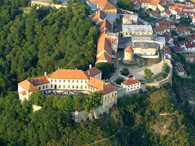 Znojemský hrad.