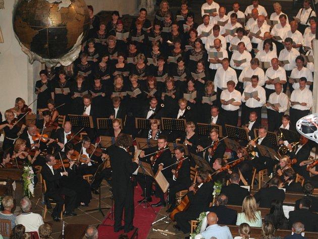 Závěrečný koncert v Mikulášském kostele