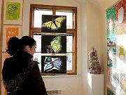 Výstava prací žáků Základní umělecké školy ve Znojmě.