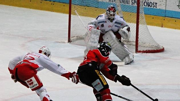 Hokejoví Orli si doma poradili s Innsbruckem.