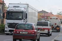 Doprava v Kuchařovicích. Ilustrační foto.