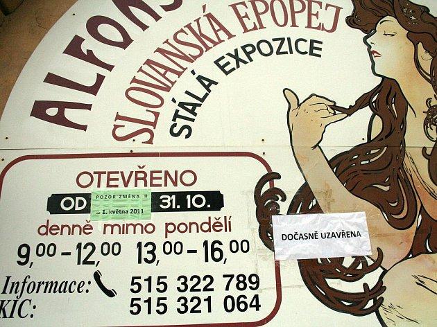 Muchova Slovanská epopej  - ilustrační fotografie.