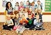 Žáci 1. B třídy ze ZŠ Ivančická v Moravském Krumlově s paní učitelkou Hanou Štěpánovou.