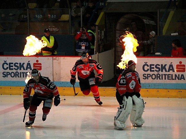 EBEL liga pokračuje. V pátek Znojmo hostilo hokejisty Vídně.