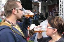 Slavnosti piva Hostan ve Znojmě - ilustrační foto.