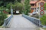 Most přes Dyji pod znojemskou přehradou.