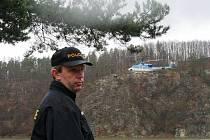 Policejní kontrola rekreačních objektů v okolí vranovské přehrady