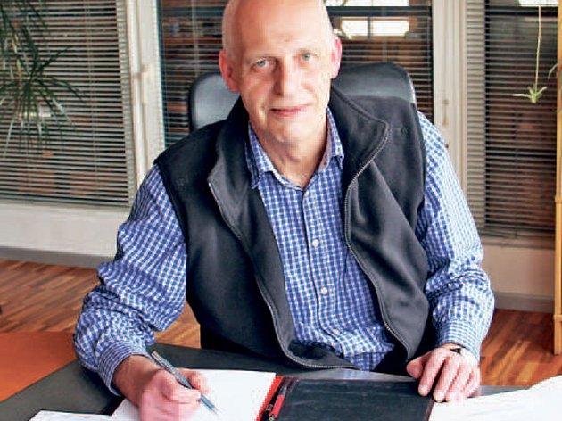 Jednatel společnosti Siegfried Höller.