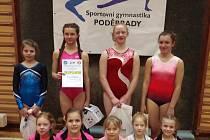 Znojemské gymnastky uspěly na závodech v Poděbradech.
