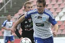 Obránce fotbalového Znojma Martin Hudec.