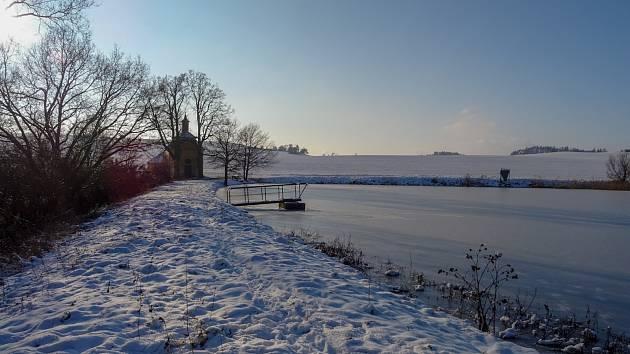 Ze zimní procházky mezi Grešlovým Mýtem a Jevišovicemi. Foto: Veronika Králová