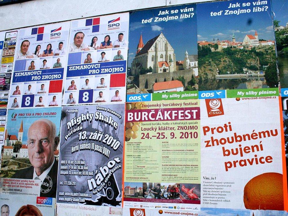Komunální volby ve Znojmě se blíží. Ilustrační foto.