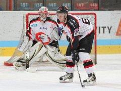 Mladí znojemští hokejisté zvítězili v šestém kole na domácím ledě nad Vítkovicemi 5:3.