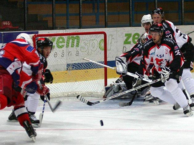 Dlouhé čtyři zápasy trvala černá série znojemských hokejistů. Až utkáním s Havlíčkovým Brodem dali svěřenci Jana Neliby na špatné výsledky zapomenout. V domácím prostředí zvítězili poměrem 6:4.