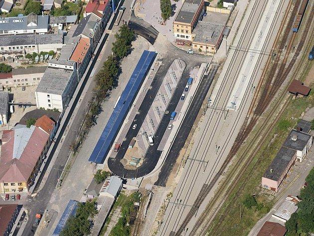Autobusové nádraží ve Znojmě - ilustrační foto.