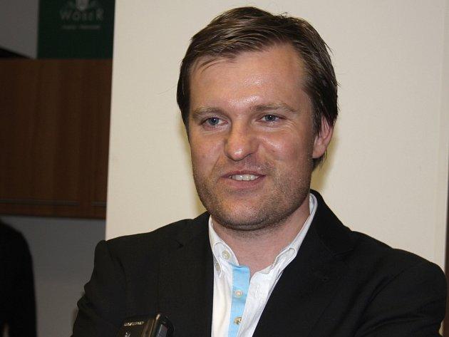 Prezident znojemského fotbalového klubu Ota Kohoutek.